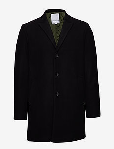 Wool coat - BLACK