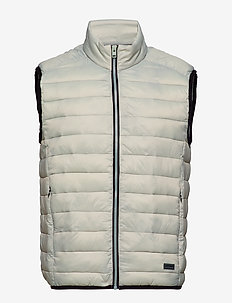 Light puffer gilet - LT GREY