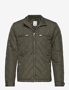 Quilted jacket - gesteppt - army