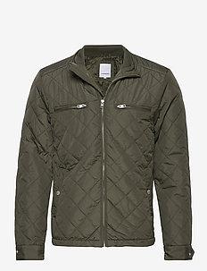 Quilted jacket - vestes matelassées - army