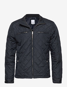 Quilted jacket - quiltede - navy
