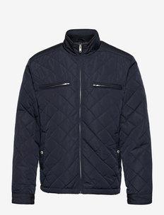 Quilted jacket - gewatteerd jassen - navy