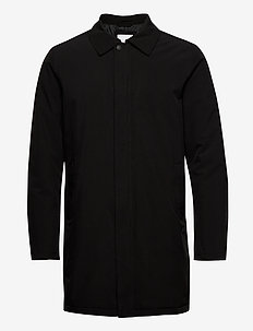 Technical mac coat - regenkleding - black