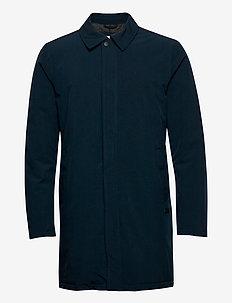 Technical mac coat - leichte mäntel - navy