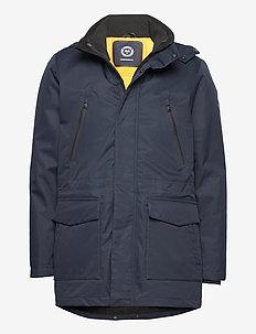 Technical 3-in-1 jacket - parkas - dk blue