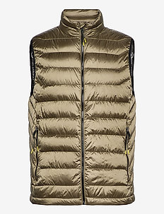 Light down gilet - vests - army