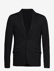 Knitted blazer - BLACK
