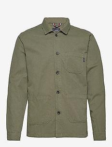 Workwear jacket - basic shirts - army