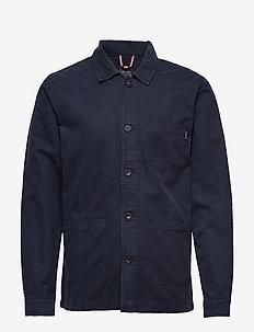 Workwear jacket - basic shirts - dk blue