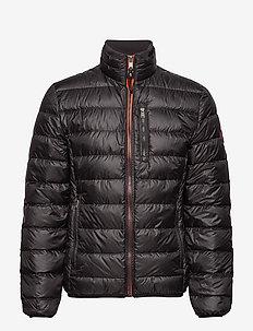 Light down jacket - BLACK