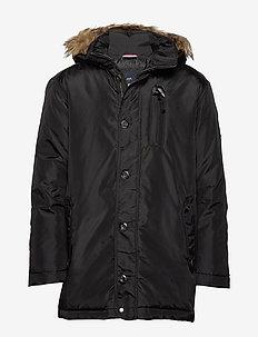 Parka jacket - parkatakit - black