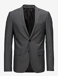 Mens blazer - single breasted suits - lt grey