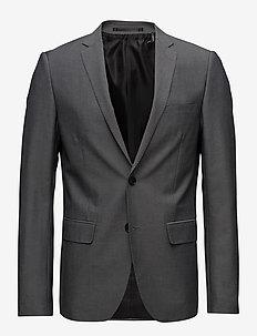 Mens blazer - enkeltkneppede dresser - lt grey
