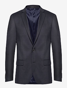 Super 120s Blazer - single breasted suits - dk blue