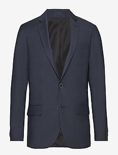 Super 120s Blazer - single breasted suits - navy