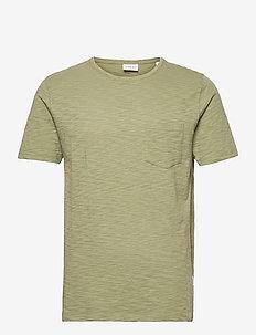 Slub tee S/S - basic t-shirts - army