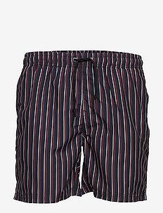 Printed shorts - casual shorts - dk blue