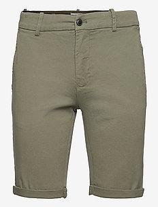 Superflex chino shorts - chinos shorts - dk army