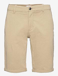 Superflex chino shorts - chinos shorts - sand