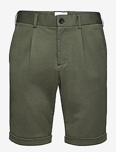 Superflex shorts piqué - chinos shorts - army