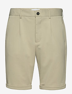 Superflex shorts piqué - chinos shorts - stone