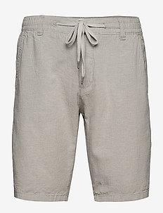 Linen shorts - casual shorts - grey