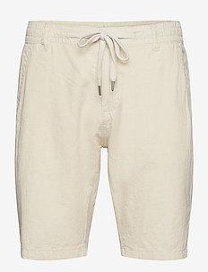 Linen shorts - casual shorts - lt sand