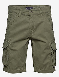 Garment dyed cargo shorts - casual shorts - army