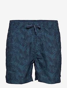 Holiday swim shorts - DK BLUE
