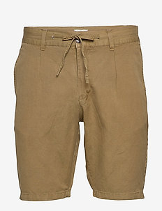 Linen shorts - ARMY