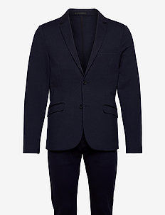 Superflex suit - single breasted suits - navy mix
