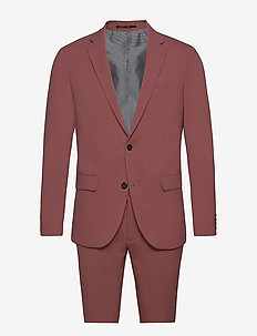 Plain mens suit - yksiriviset puvut - dusty rose