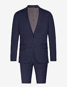 Checked suit - DK BLUE CHECK