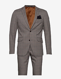 Checked suit - BEIGE CHECK