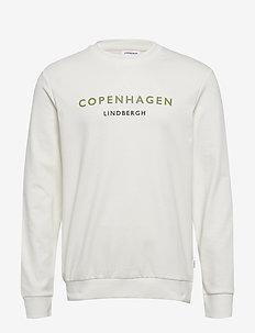 Logo print sweatshirt - sweatshirts - off white