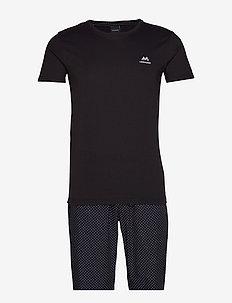 Gift box pyjama - BLACK
