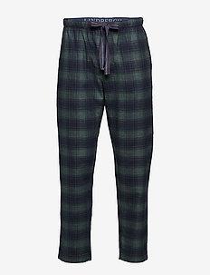Checked pyjamas pants - GREEN MIX