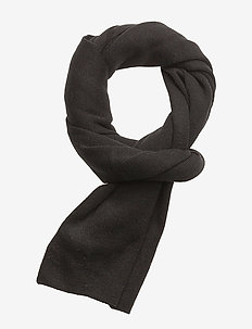 Knit scarf - huivit - black