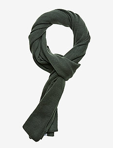 Knit scarf - GREEN