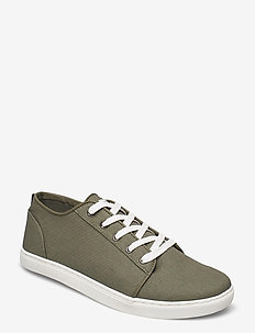Sneaker shoe - lave sneakers - army