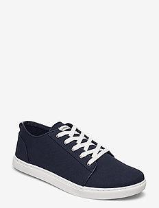 Sneaker shoe - lave sneakers - navy