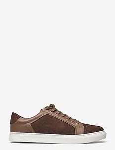 Sneaker shoe - low tops - lt brown
