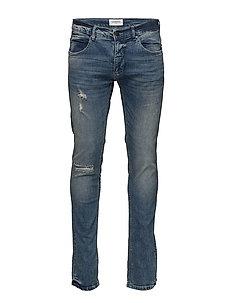 Slimfit stretch jeans desert b - DESERT BLUE