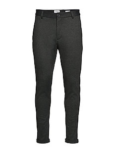 Knitted cropped pants - ARMY MIX