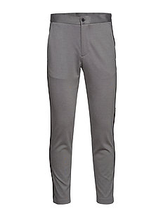 Relaxed pants - GREY MIX