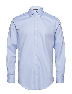 Small structure shirt L/S - LIGHT BLUE
