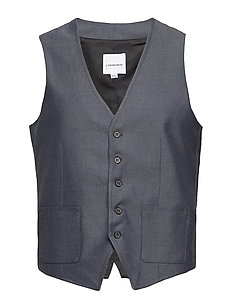 Waistcoat for twill suit - GREY MIX