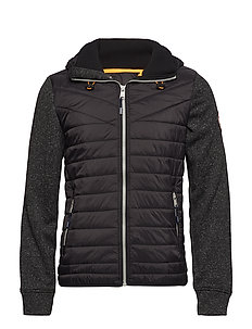 Quilted jacket - BLACK