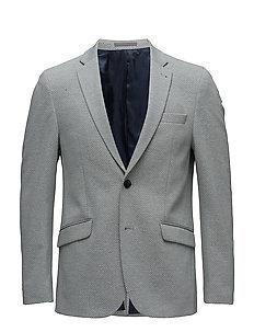Knitted blazer - GREY