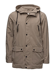 Light parka jacket - SAND